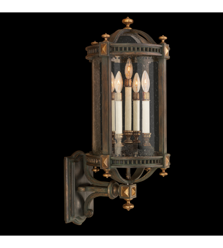 Fine Art Lamps 564781st Beekman Place 5 Light Outdoor Wall Mount In Other Dark