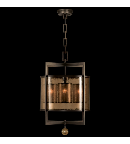 Fine Art Lamps 591140st Singapore Moderne 4 Light Lantern In Bronze