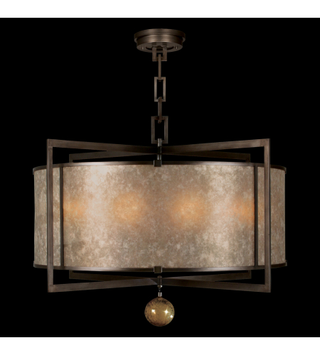 Fine Art Lamps 591540st Singapore Moderne 8 Light Pendant In Bronze