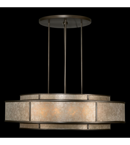 Fine Art Lamps 600140st Singapore Moderne 12 Light Pendant In Bronze