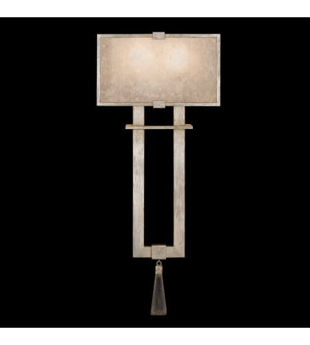 Fine Art Lamps 600550-2st Singapore Moderne 2 Light Sconce In Silver
