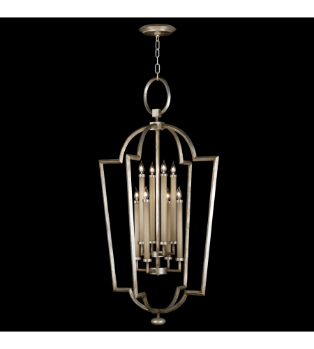 Fine Art Lamps 780440st Allegretto 8 Light Lantern In Silver