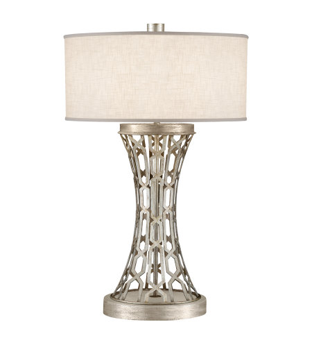 Fine Art Lamps 784910ST Allegretto 1 Light Table Lamp in Silver