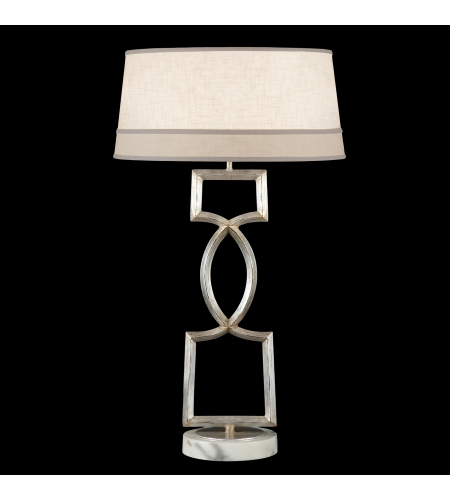 Fine Art Lamps 785010st Allegretto 1 Light Table Lamp In Silver