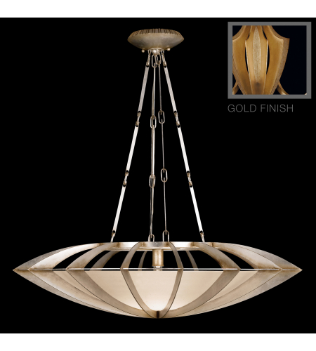 Fine Art Lamps 787040-2st Staccato 1 Light Pendant In Gold
