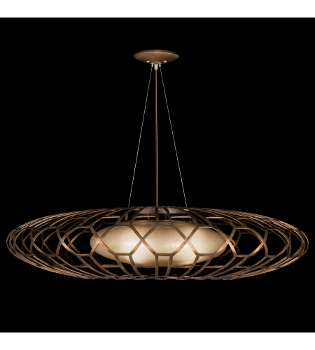 Fine Art Lamps 789040st Allegretto 3 Light Pendant In Bronze