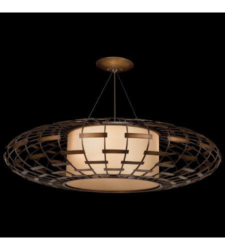 Fine Art Lamps 789240st Allegretto 3 Light Pendant In Bronze