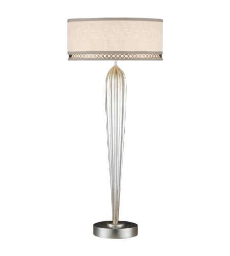 Fine Art Lamps 792915ST Allegretto 2 Light Table Lamp in Silver