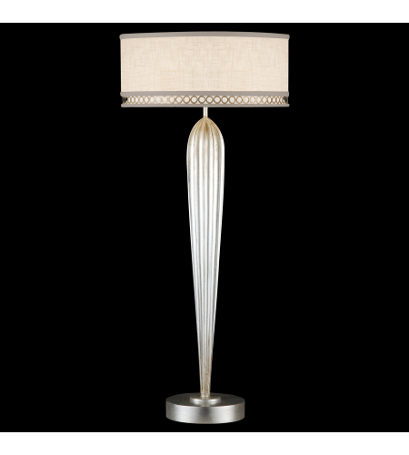 Shop for table lamp at foundry lighting fine art lamps 792915st allegretto 2 light table lamp in silver mozeypictures Choice Image