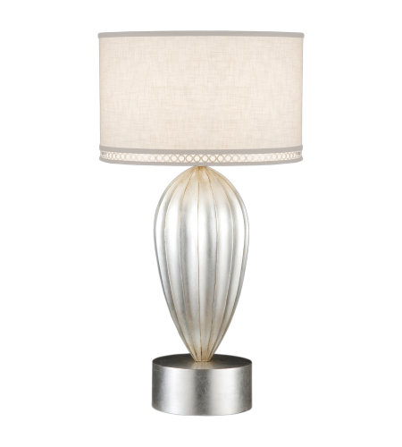 Fine Art Lamps 793110ST Allegretto 1 Light Table Lamp in Silver