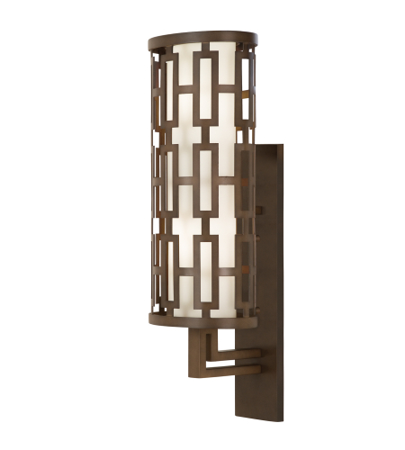 Fine Art Lamps 839481st River Oaks 2 Light Outdoor Wall Mount In Bronze