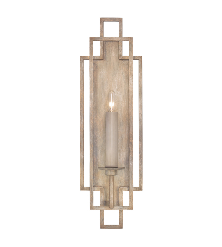 Fine Art Lamps 889350-2st Cienfuegos 1 Light Sconce In Weathered Gray Patina