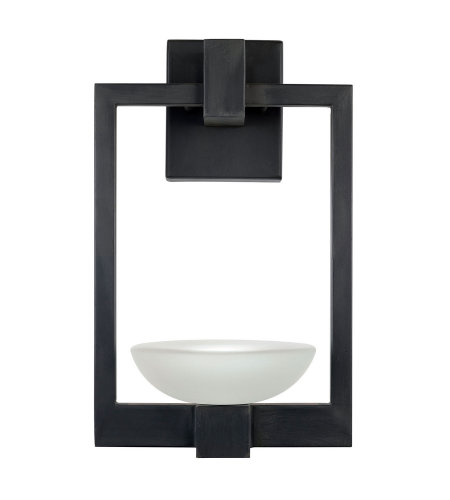 Fine Art Lamps 898581ST Delphi Outdoor 2 Light Outdoor Wall Sconce in Black