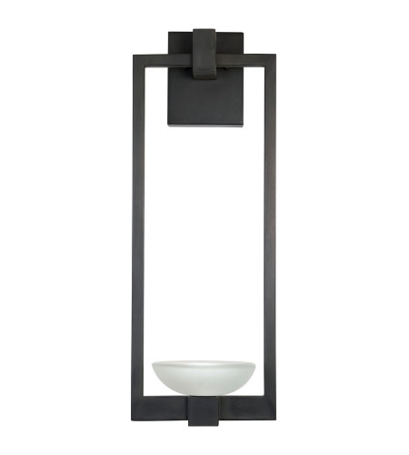 Fine Art Lamps 898681ST Delphi Outdoor 2 Light Outdoor Wall Sconce in Black