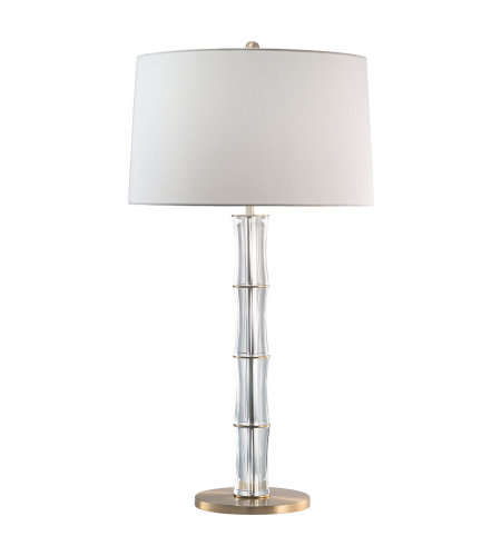 Fine Art Lamps 905710ST Crystal Lamps 1 Light Table Lamp in Brass