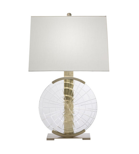 Fine Art Lamps 906010ST Crystal Lamps 1 Light Table Lamp in Brass