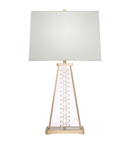 Fine Art Lamps 906610ST Crystal Lamps 1 Light Table Lamp in Brass