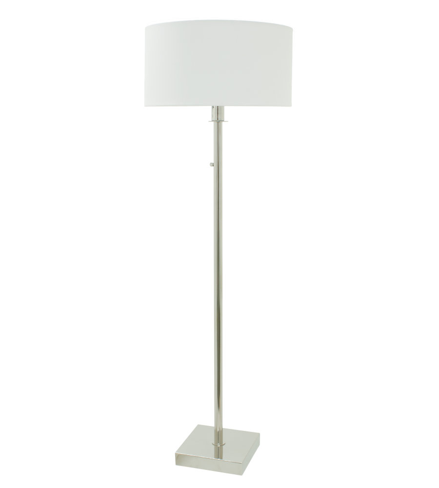 House of troy fr700 pn 1 light franklin 64 polished nickel floor house of troy fr700 pn 1 light franklin 64 polished nickel floor lamp in polished nickel mozeypictures Image collections