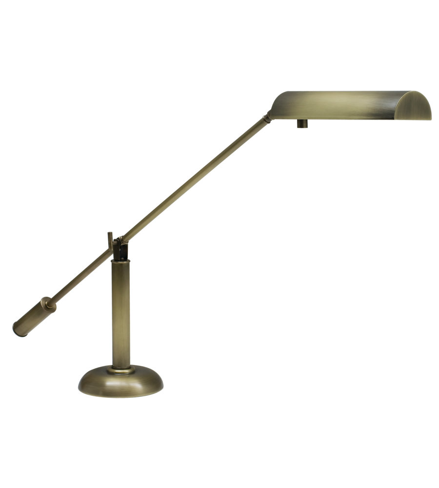 House Of Troy Ph10 195 Ab Grand Piano Piano Desk Lamp In Antique Brass