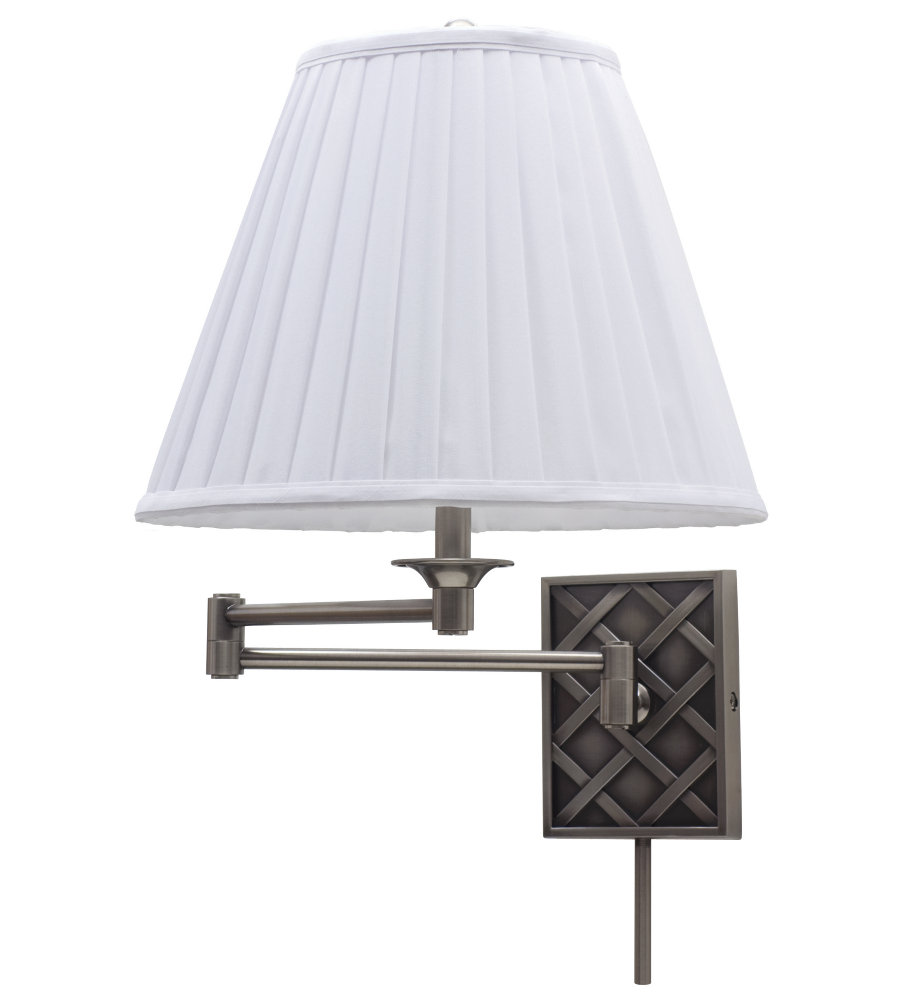House Of Troy Ws760 As 1 Light Wall Swing Arm Lamp In