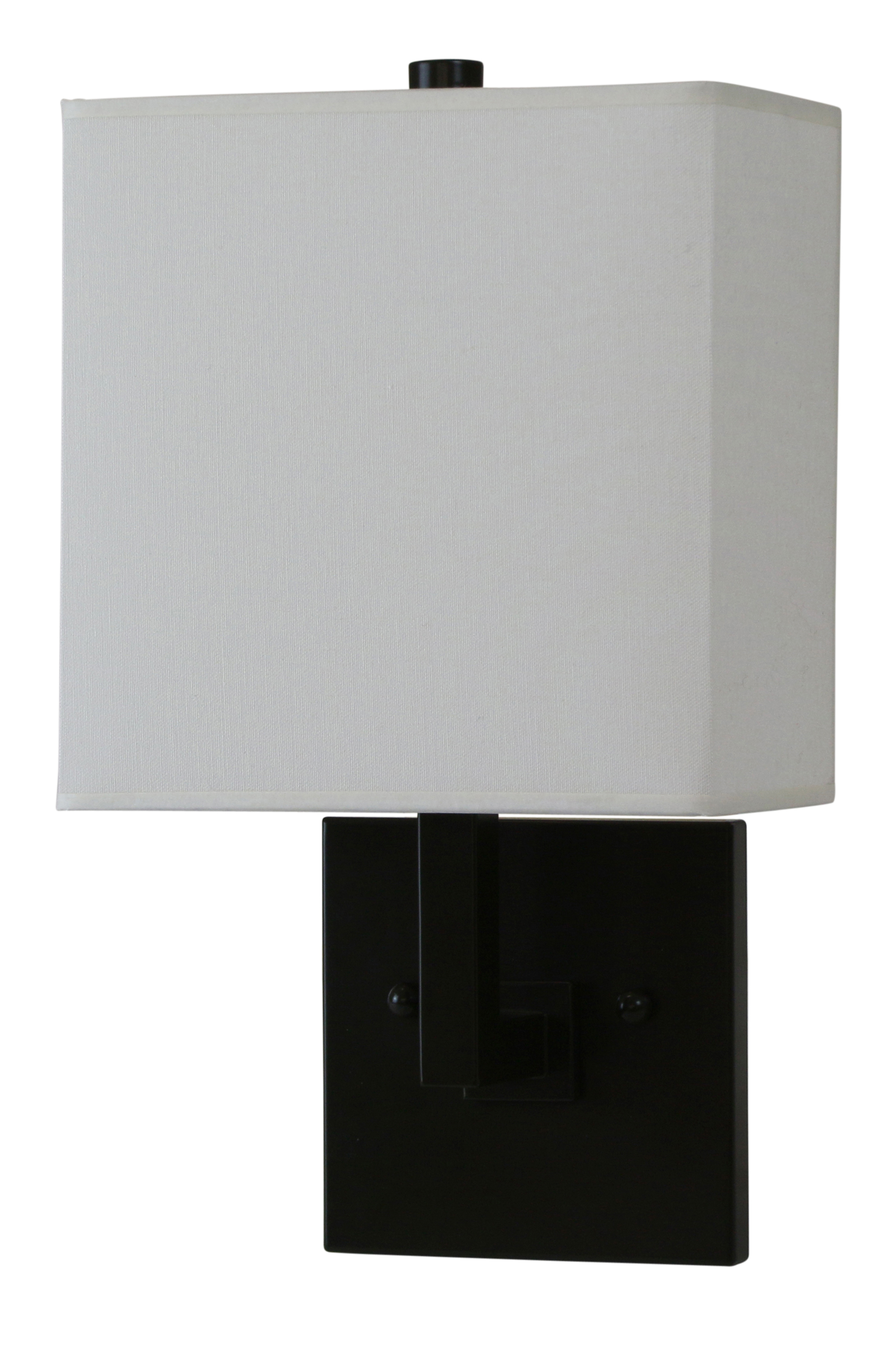 House Of Troy Wl631-Abz 1 Light Direct Wire Ada Wall Sconce In ...