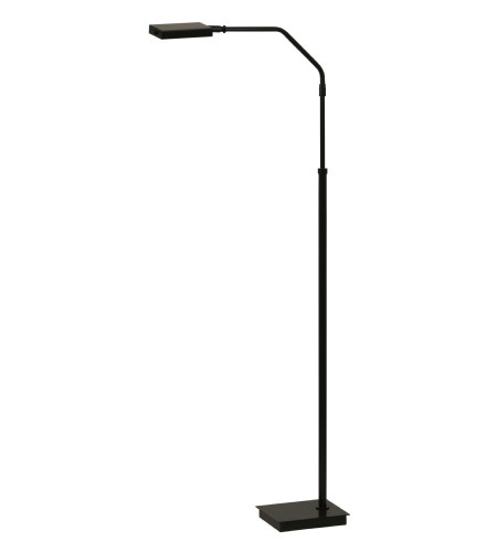 House Of Troy G500-Blk 1 Light Generation Adjustable Led Floor Lamp In Black In Black
