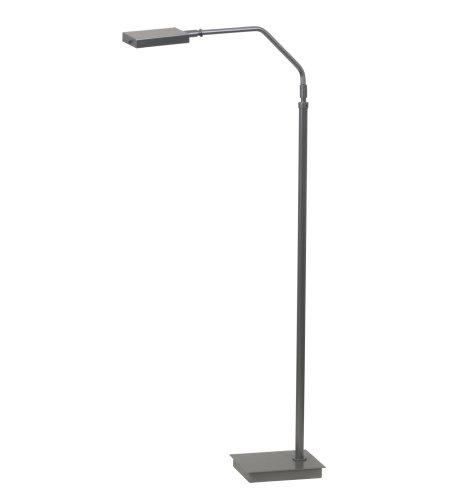 House Of Troy G500-Pg 1 Light Generation Adjustable Led Floor Lamp In Platinum Gray In Platinum Gray