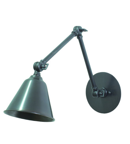 House Of Troy Lled30-Ob 1 Light Library Adjustable Led Lamp In Oil Rubbed Bronze In Oil Rubbed Bronze