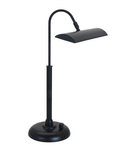 House Of Troy Pzledz100-7 1 Light Zenith Ledz Piano/Desk Lamp In Black