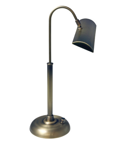 House Of Troy Pzledz100-71 1 Light Zenith Ledz Piano/Desk Lamp In Antique Brass