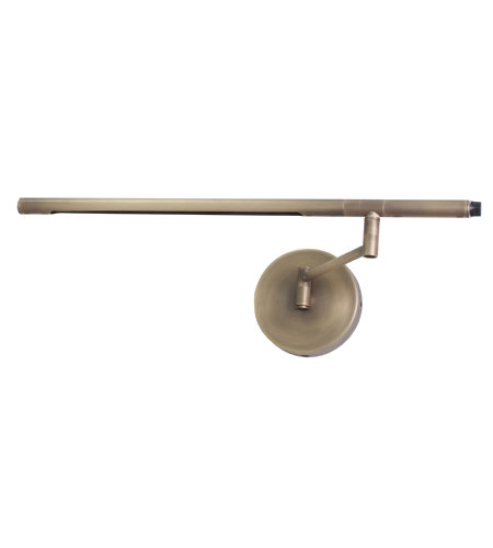 House Of Troy Sled525-Ab 1 Light Slim-Line Led Task Wall Lamp In Antique Brass In Antique Brass