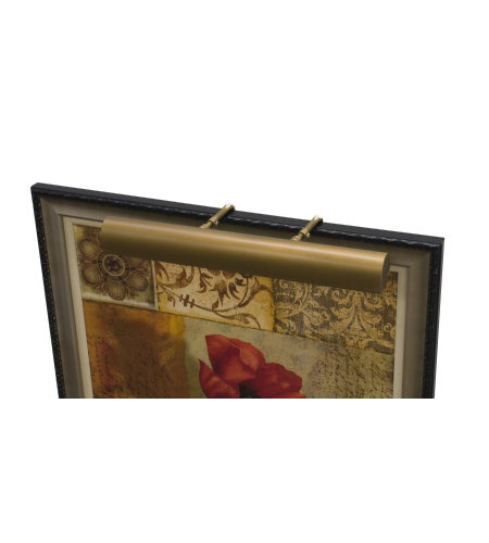 House of Troy TLEDZ24-76 Classic Traditional Picture Light in Weathered Brass