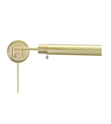 House Of Troy Ws12-51-F 1 Light Home/Office Wall Swing Satin Brass In Satin Brass