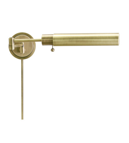 House Of Troy Ws12-71-F 1 Light Home/Office Wall Swing Antique Brass In Antique Brass