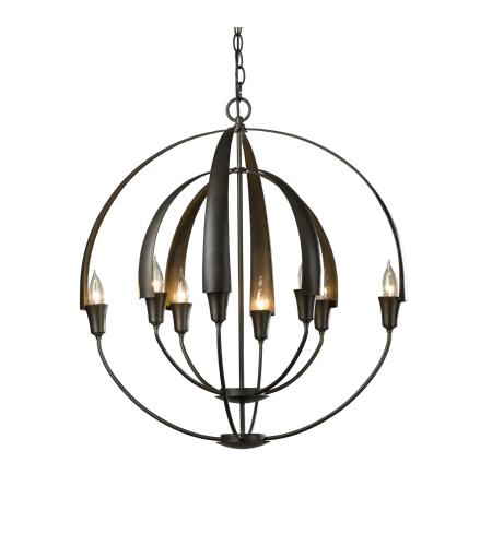 Hubbardton forge 104205 skt 01 8 light double cirque chandelier in hubbardton forge 104205 07 no 8 light double cirque chandelier in dark smoke aloadofball Images