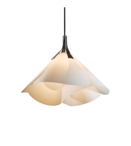 Hubbardton Forge 134503-Skt-Long-03-Sg1990 1 Light Mobius Large Pendant In Mahogany