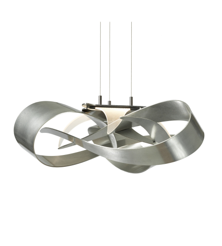 Hubbardton Forge 136520-Led-Stnd-01 Light Flux Led Pendant In Gloss White