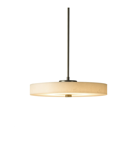 Hubbardton Forge 139710-Led-Long-01-Sg1971 Light Disq Led Pendant In Gloss White