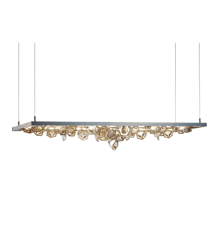 Hubbardton Forge 139759-Led-Stnd-01-82 Light Winter Led Pendant In Gloss White