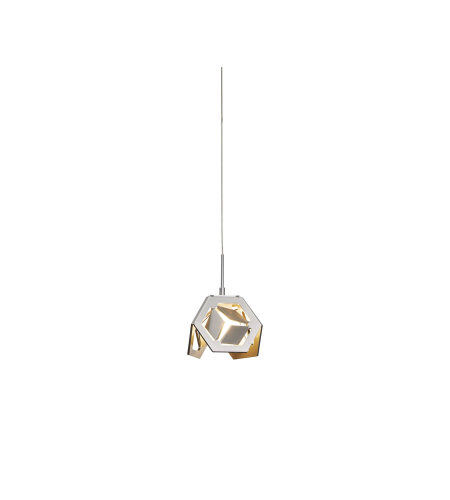 Hubbardton Forge 161175-Skt-03 1 Light Winter Low Voltage Mini Pendant In Mahogany