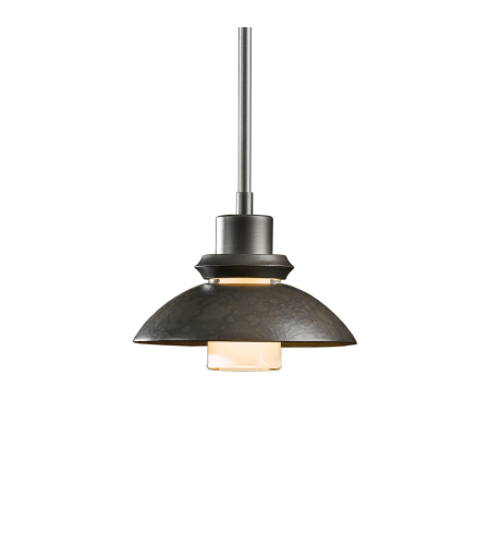 Hubbardton Forge 184930-Skt-Long-03 1 Light Staccato Mini Pendant In Mahogany