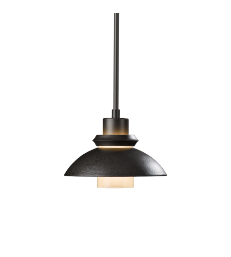 Hubbardton Forge 184970-Skt-Long-03 1 Light Staccato Large Mini Pendant In Mahogany