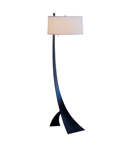Hubbardton Forge 232666-Led-03-Sb1995 1 Light Stasis Floor Lamp In Mahogany