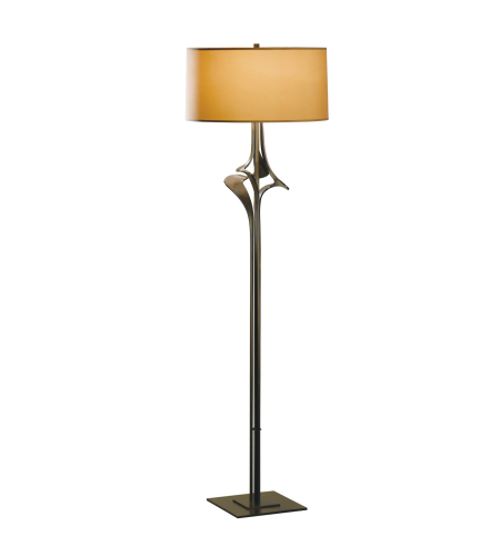 Hubbardton Forge 232810-Led-03-Sb1899 1 Light Antasia Floor Lamp In Mahogany