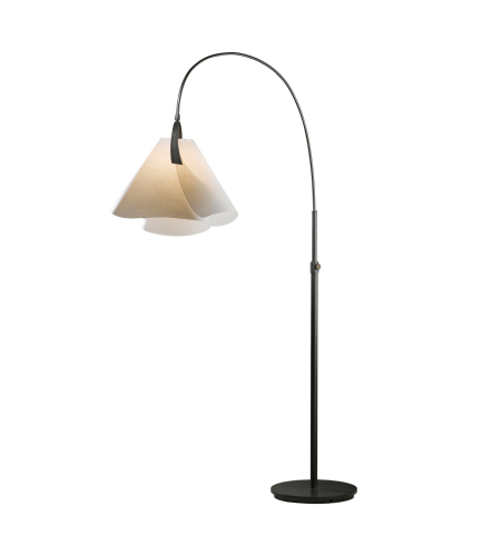 Hubbardton Forge 234505-Led-03-Sg1992 1 Light Mobius Arc Floor Lamp In Mahogany