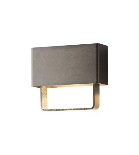 Hubbardton Forge 302510-Led-77 Light Quad Small Led Outdoor Sconce In Coastal Dark Smoke
