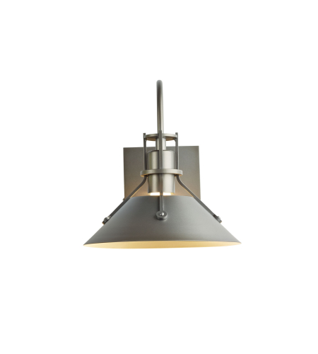 Hubbardton Forge 302710-Skt-03 1 Light Henry Small Outdoor Sconce In Mahogany