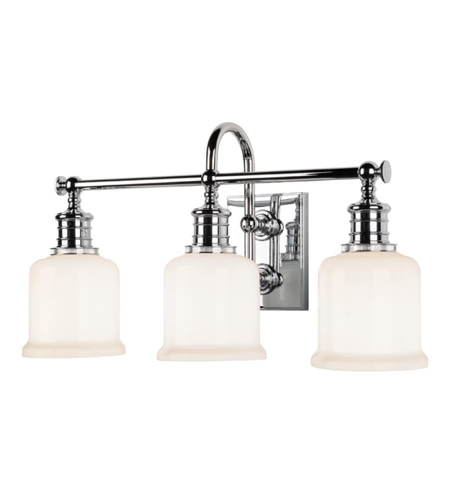Hudson Valley Lighting Bulbs: Hudson Valley 1973-Pc Keswick 3 Light Bath Bracket In