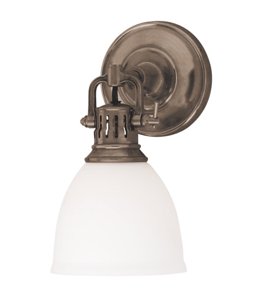 Hudson Valley Lighting Bulbs: Hudson Valley 2201-Hb Pelham 1 Light Wall Sconce In