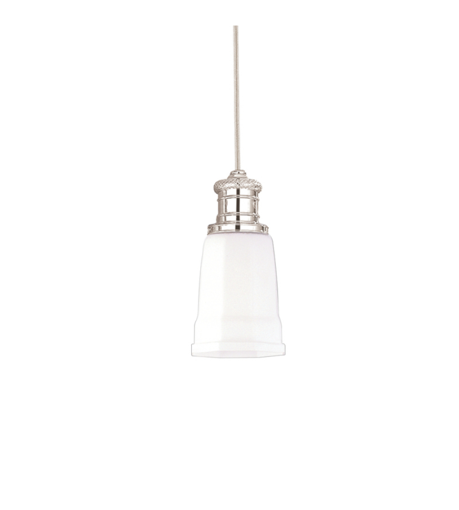 Hudson Valley Lighting Bradford: Hudson Valley 2521-PN Bradford 1 Light Pendant In Polished